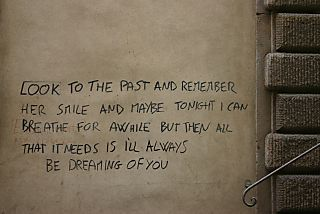 Poetic graffiti