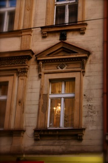 Evening window