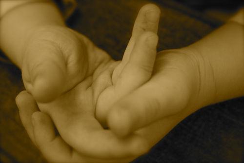 Hands full of hope